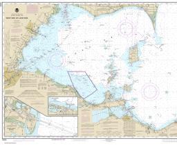 western lake erie map Chart 14830 western lake erie map
